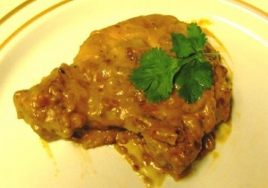 Veal In Lemon Cream Sauce