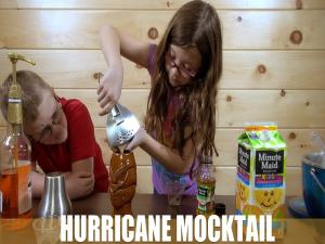 The Hurricane Mocktail