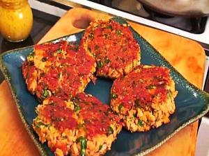 Asian Salmon Burger