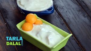 Frozen Muskmelon Yoghurt 1018968 By Tarladalal