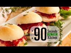 90 Second Mini Turkey Sliders 1018411 By Thefoodchannel