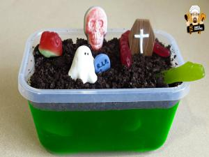 Halloween Gummy Graveyard