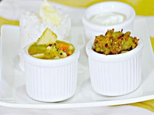 Dondakaaya Ulli Karam Mixed Vegetable Kootu