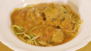 Healthy Spaghetti And Meatballs 1013707 By Grateandfull