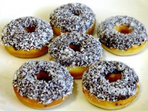 How To Make Lamington Donuts