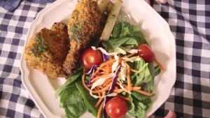 Southern Style Buttermilk Ranch Baked Chicken 1015992 By Grateandfull