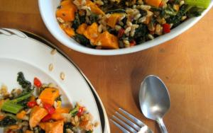 I Will Survive Ft Farro And Sweet Potato Pilaf 1017031 By Sanaacooks