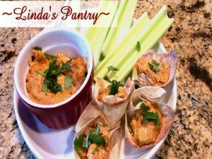 Super Bowl Hot Sriracha Chicken Party Dip With Lindas Pantry