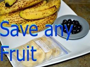 How To Freee Bananas