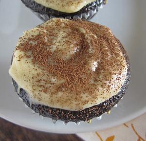 Chunky Chocolate Cupcakes