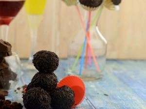 Chocolaty Balls By Tarla Dalal