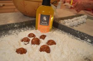 Chocolate Macadamia Rum Balls