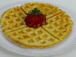 Homemade Waffles Pic