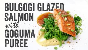 Bulgogi Glazed Salmon
