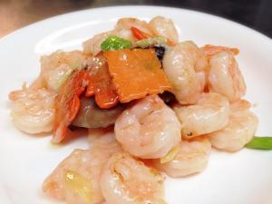 Chinese Stir Fry Shrimps Recipes With Mushrooms