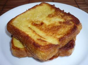 Crunchy Oven Fried French Toast
