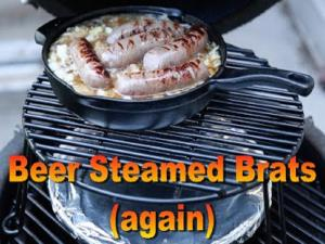 Beer Steamed Brats