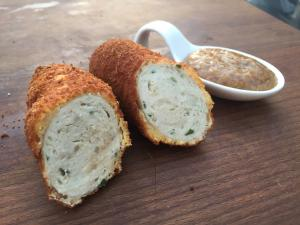 Bavarian Corn Dogs