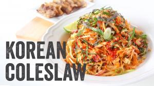 Korean Cole Slaw Recipe Season 4 Ep 12 1015874 By Chefjulieyoon