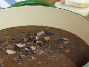 Ham Black Bean Soup Recipe Le Gourmet Tv