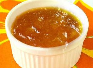 Peach Or Apricot Sauce