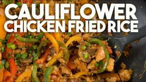 Cauliflower Chicken Fried Rice 1019806 By Kravingsblog