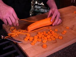 Carrots Gear Garnish
