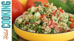 How To Make Tabouli Tabouli Recipe Hilah Cooking