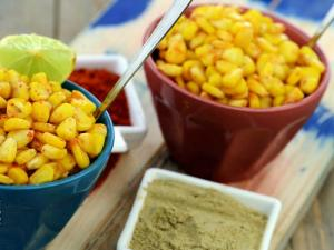 Spicy Masala Corn By Tarla Dalal