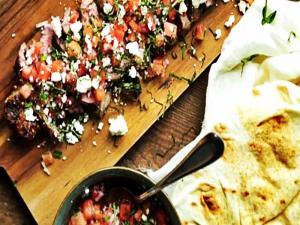 Grilled Strip Steak Recipe With Watermelon Salsa