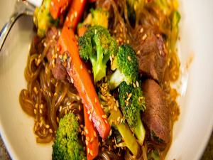 Blue Apron Korean Stir Fried Beef Chapchae 1