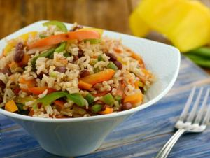Mexican Rice Diabetic And Zero Oil Recipe By Tarla Dalal
