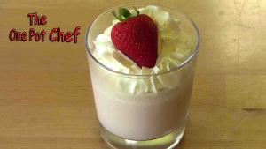 Strawberry Dessert Cups One Pot Chef