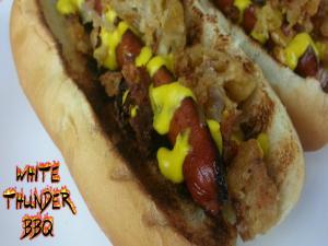 Shake Shack Shackmeister Dog Recipe Hot Dogs On The Weber Go Anywhere