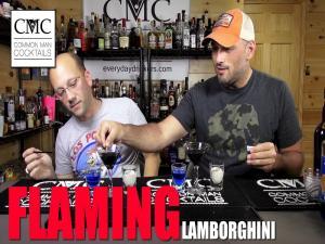 The Flaming Lamborghini