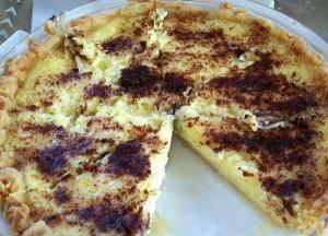 Rich Custard Pie