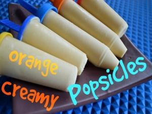 Orange Creamy Popsicle