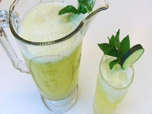 Cooling Cucumber Mint Lemonade