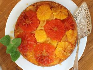 Upside Down Citrus Cake