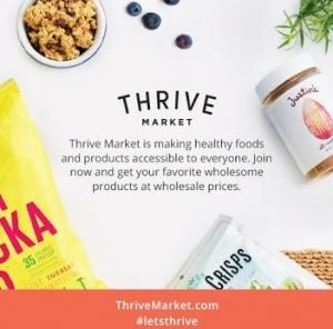 Save Money On Organic Groceries With Thrive Market