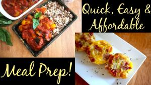 Quick And Easy Meal Prep Recipes And Ideas