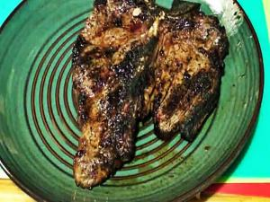 Ir Grilled T Bone Steaks