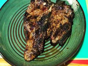 Ir Grilled T Bone Steaks