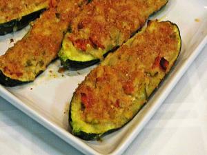 Southwestern Stuffed Zucchini