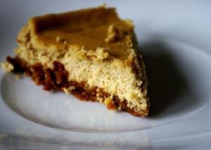 Curried Blue Cheesecake