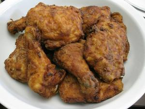 Skinny Fried Chicken