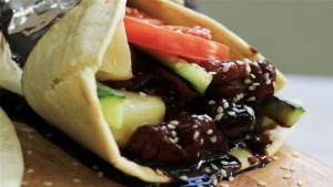 Chicken Teriyaki Gyros Recipe 1005846 By Videojug
