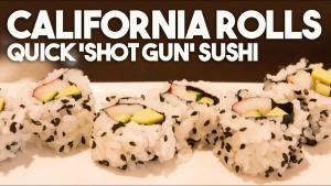 California Roll Shotgun Sushi Style Roll By Sang Kim 1019680 By Kravingsblog