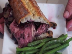 Slow Roast Rib Roast With 3 Berry Galze