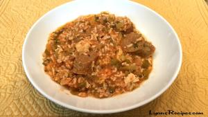 Creole Style Andouille Sausage And Chicken